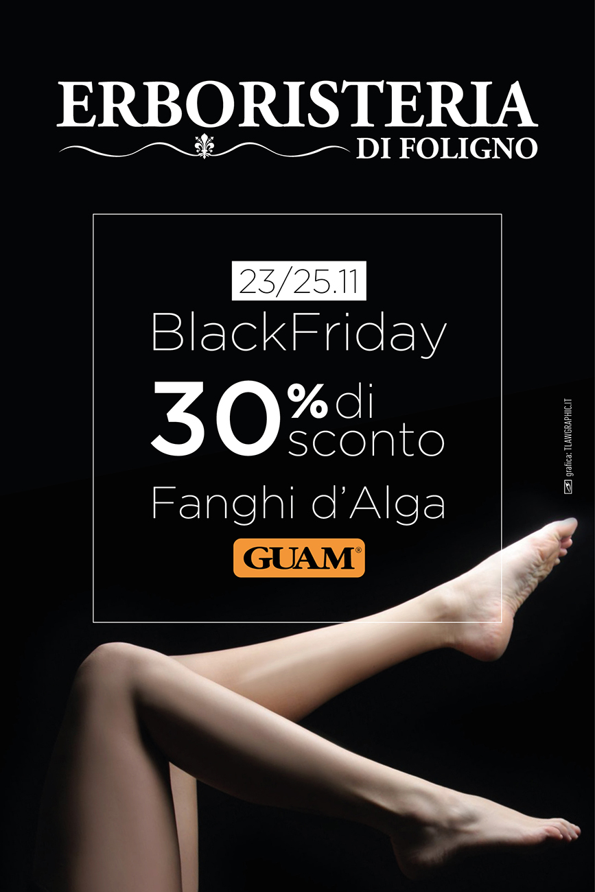 Erboristeria di Foligno Black Friday 2017